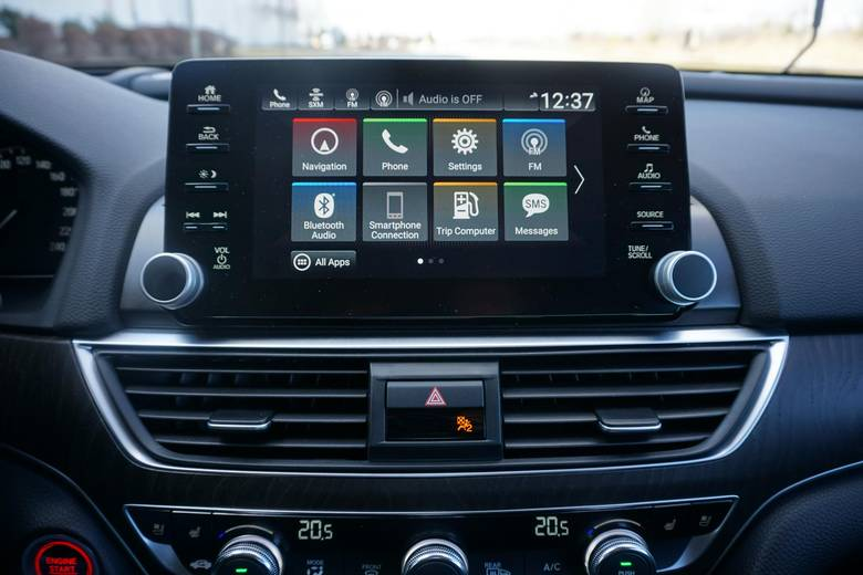 The Honda Sensing package offers a multiangle backup camera.